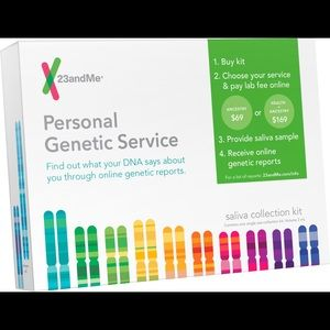 23andMe Personal Genetic Service Ancestry 📊DNA